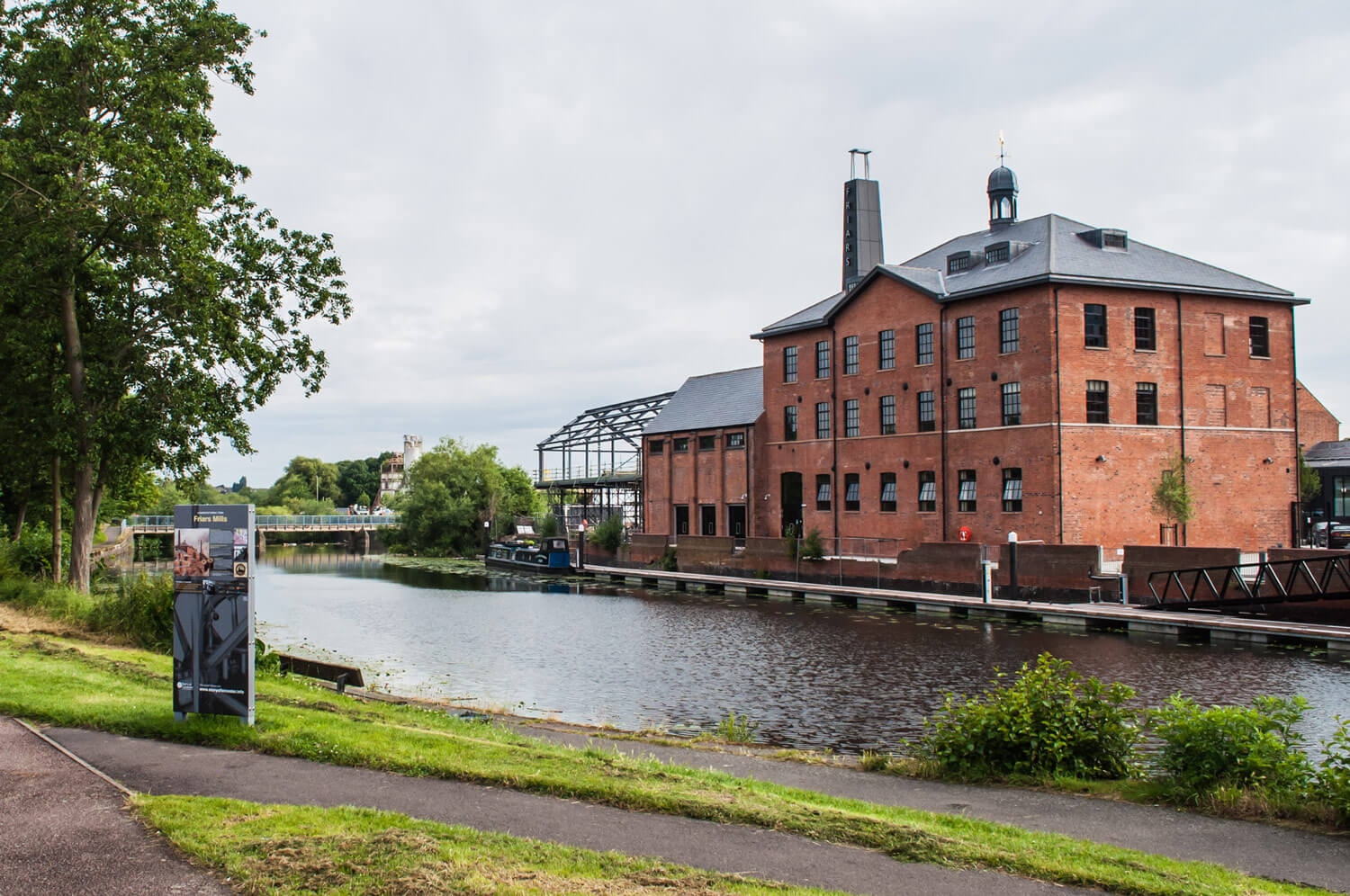 Friars Mill as it looked in 2016 -