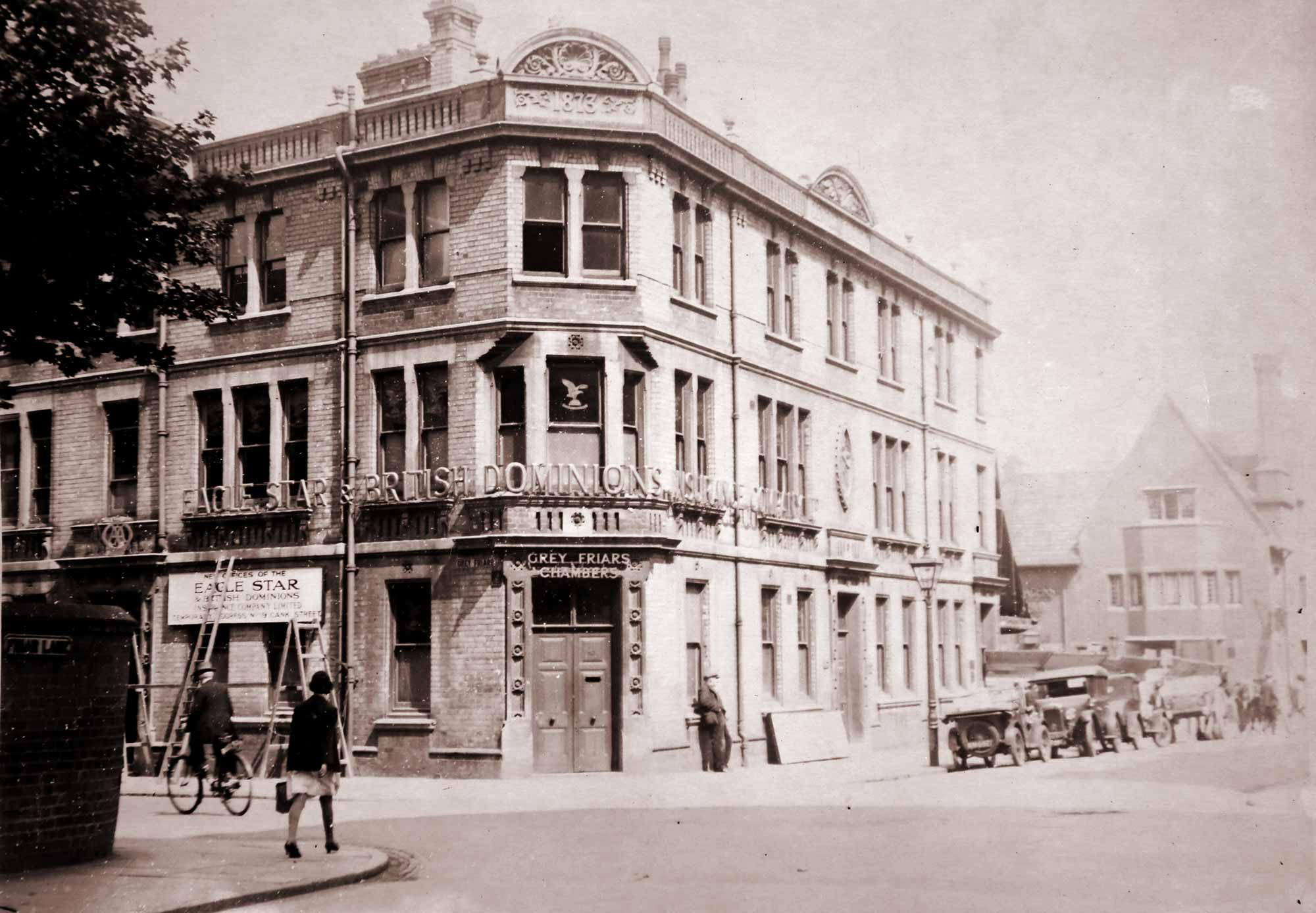 Corner of Friar Lane and Grey Friars, this building was the location of the Leicester City Council Fostering & Adoption Centre -