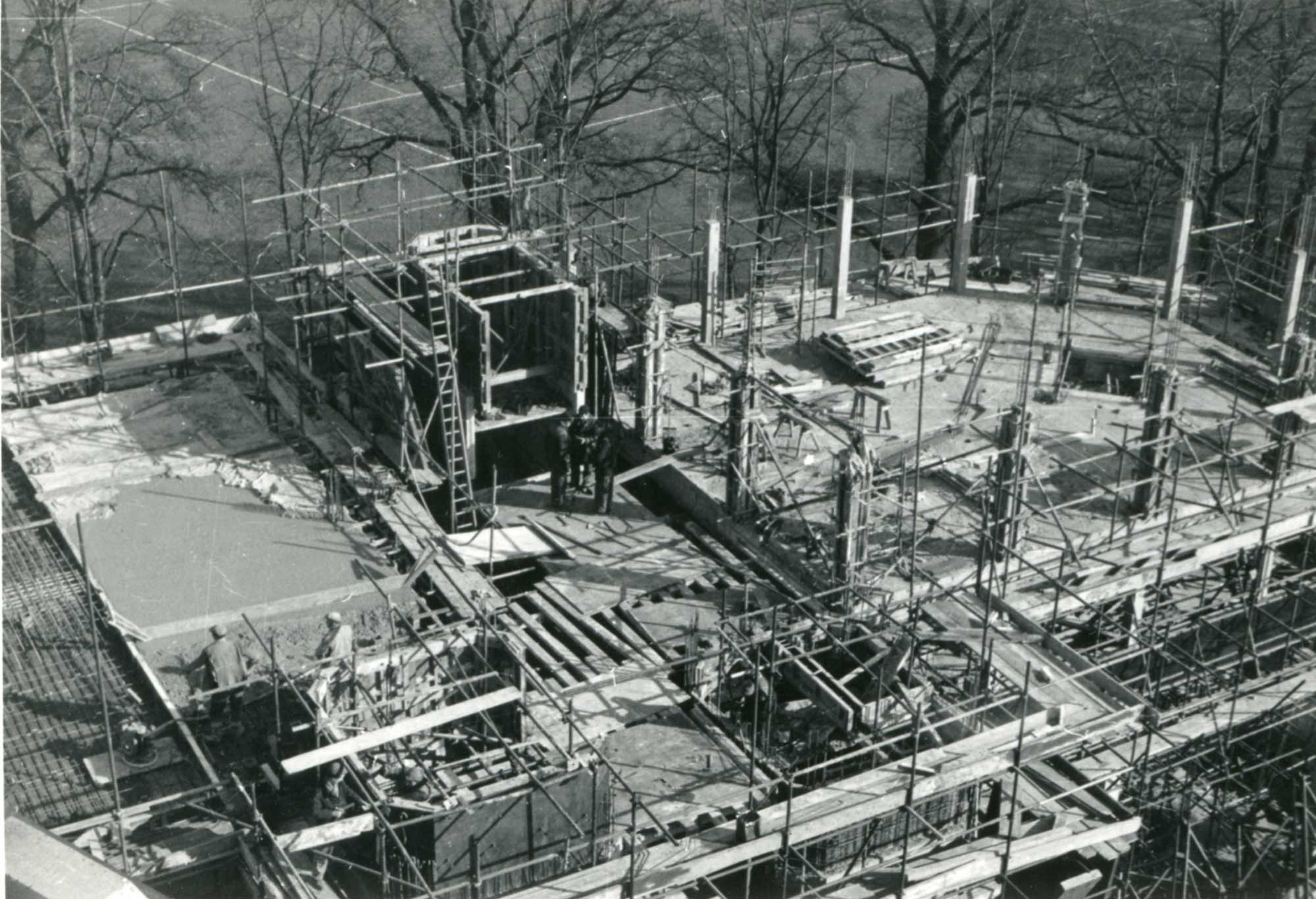 Under construction, 1959-1963 - University of Leicester
