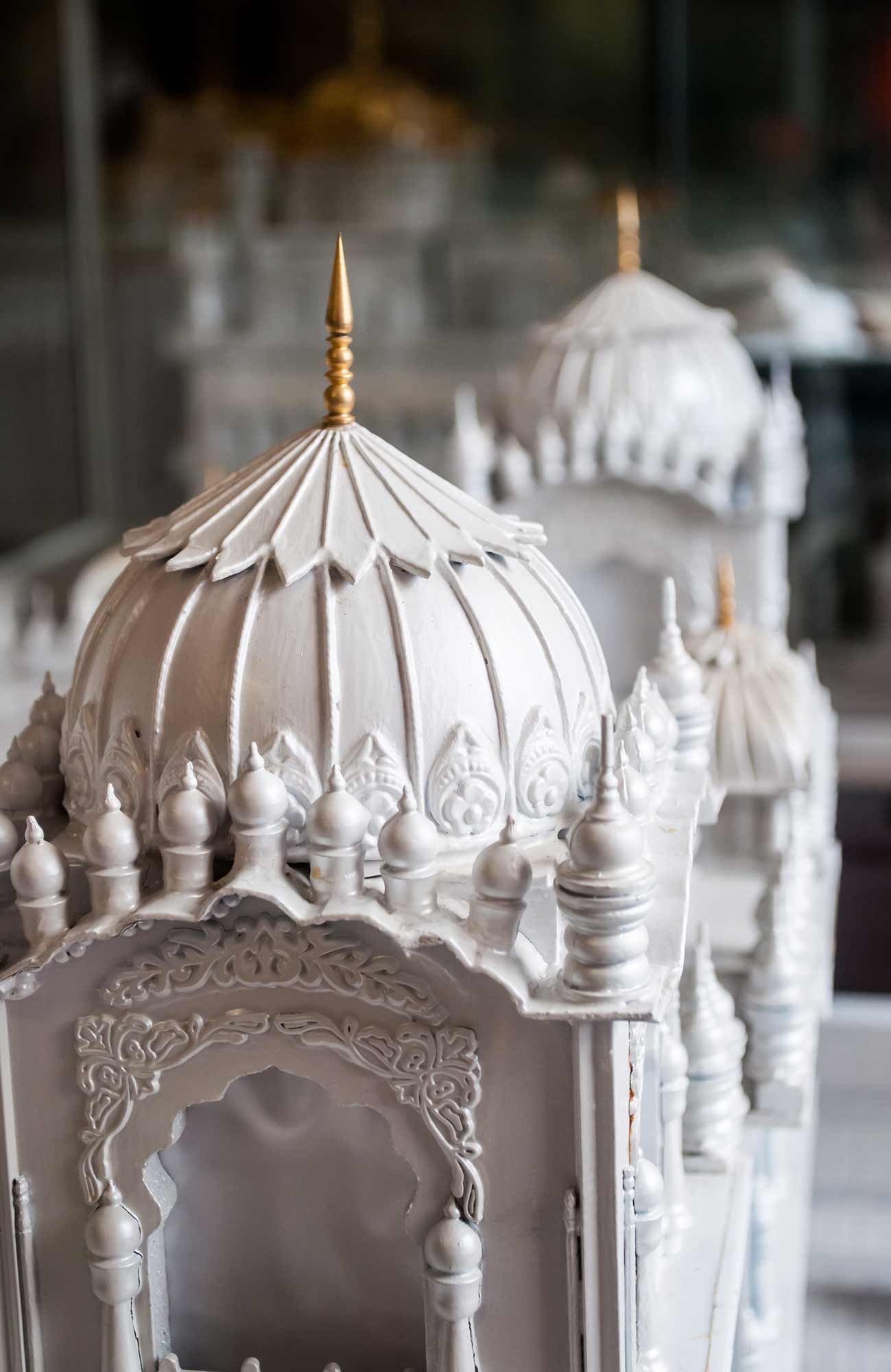 Items on display in the museum -