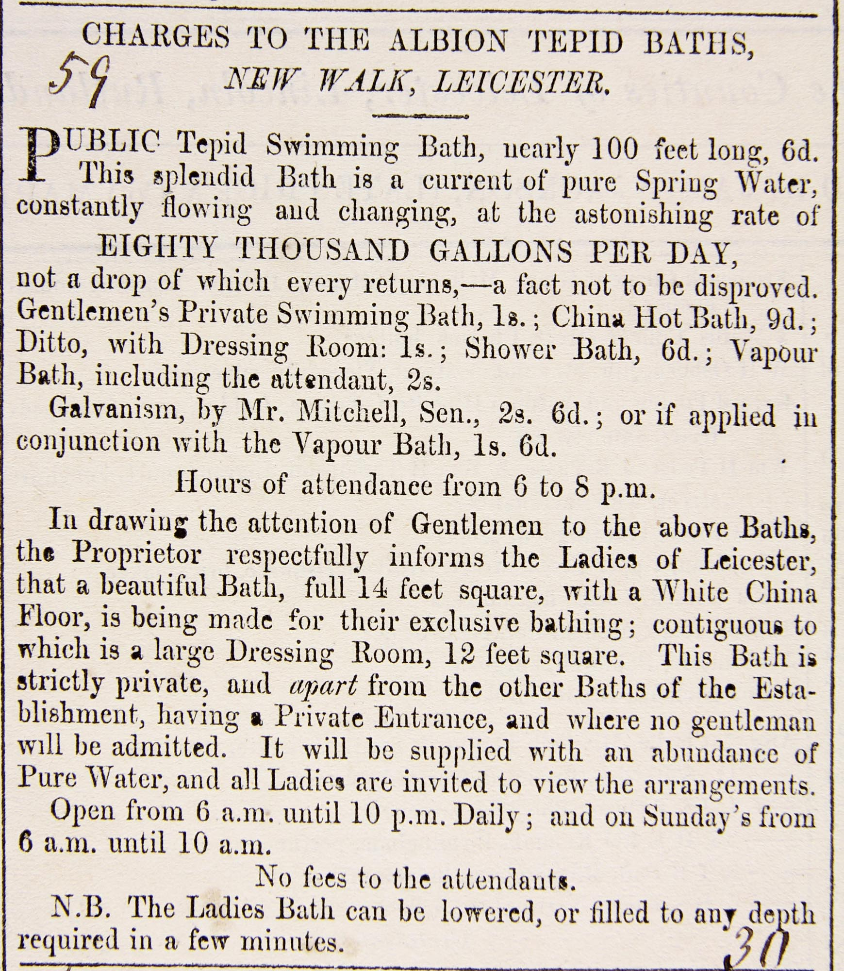 Leicester Journal 1846 -