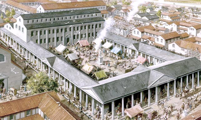 The Roman Forum and Basilica