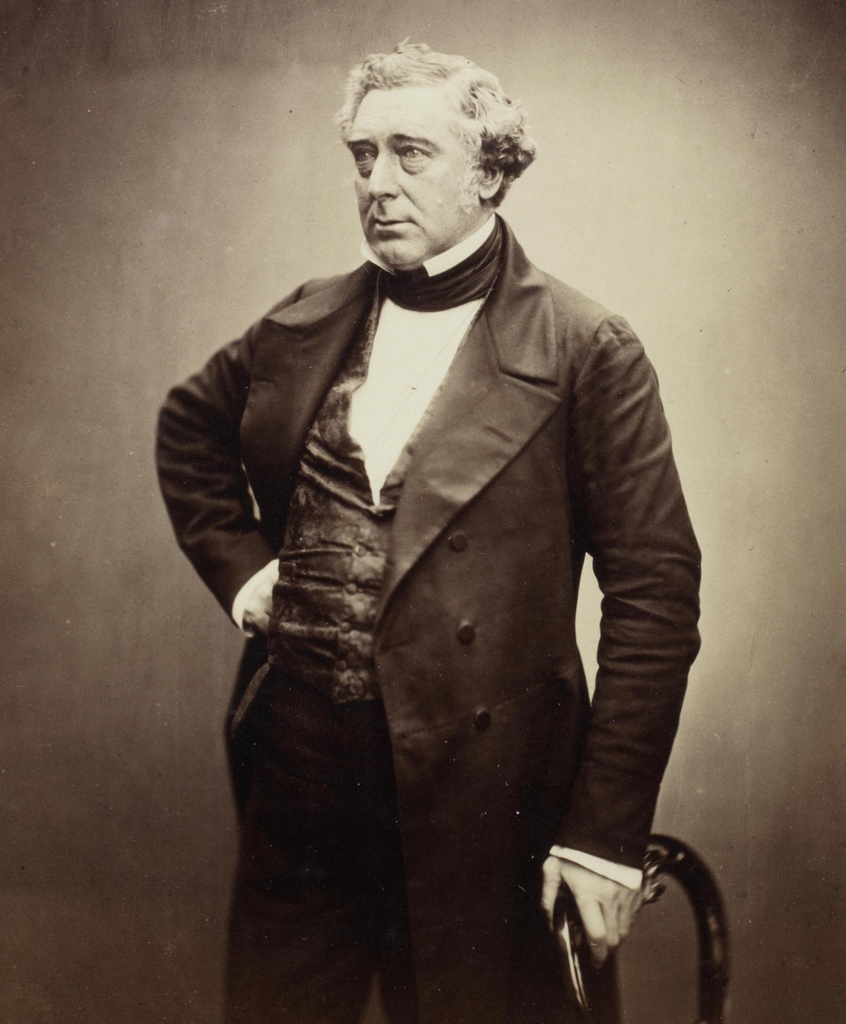 Robert Stephenson by Maull & Polybank, 1856 -