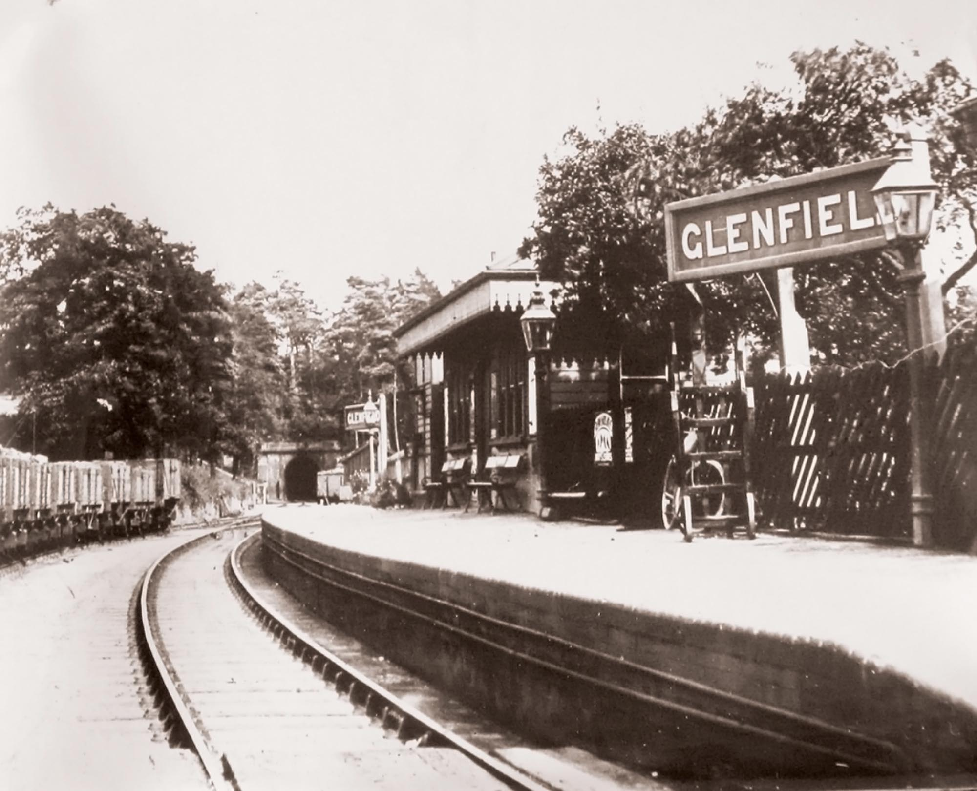 Glenfield Station c.1890 -