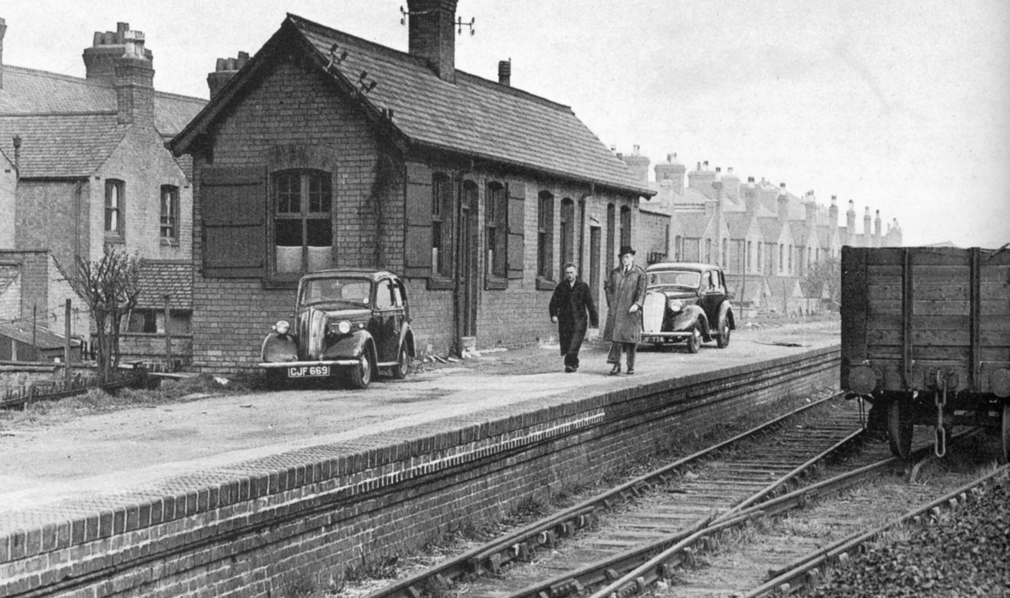 West Bridge Station in April 1948 -