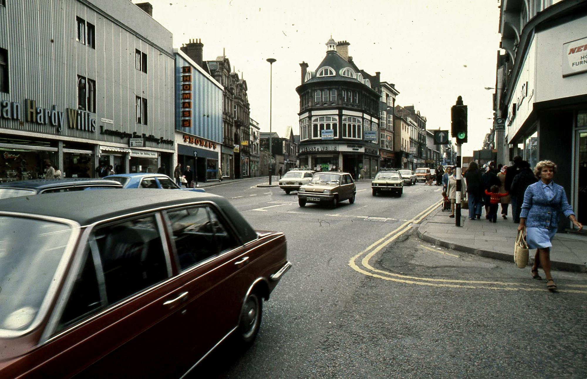 High Street in 1978 -