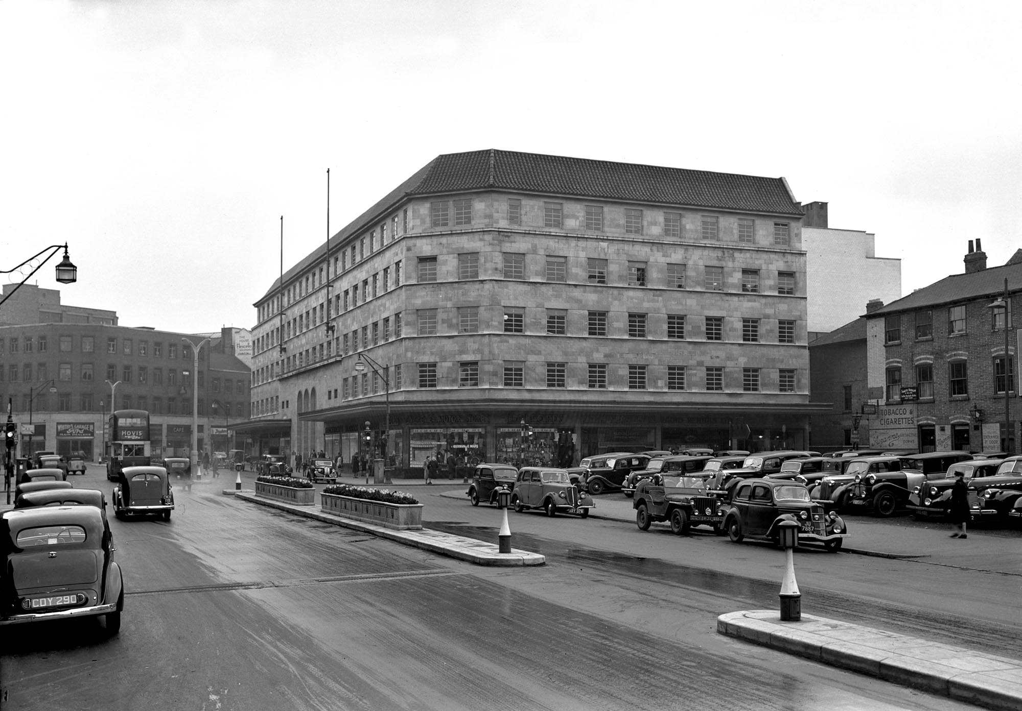 Municipal Offices in the 1940s -