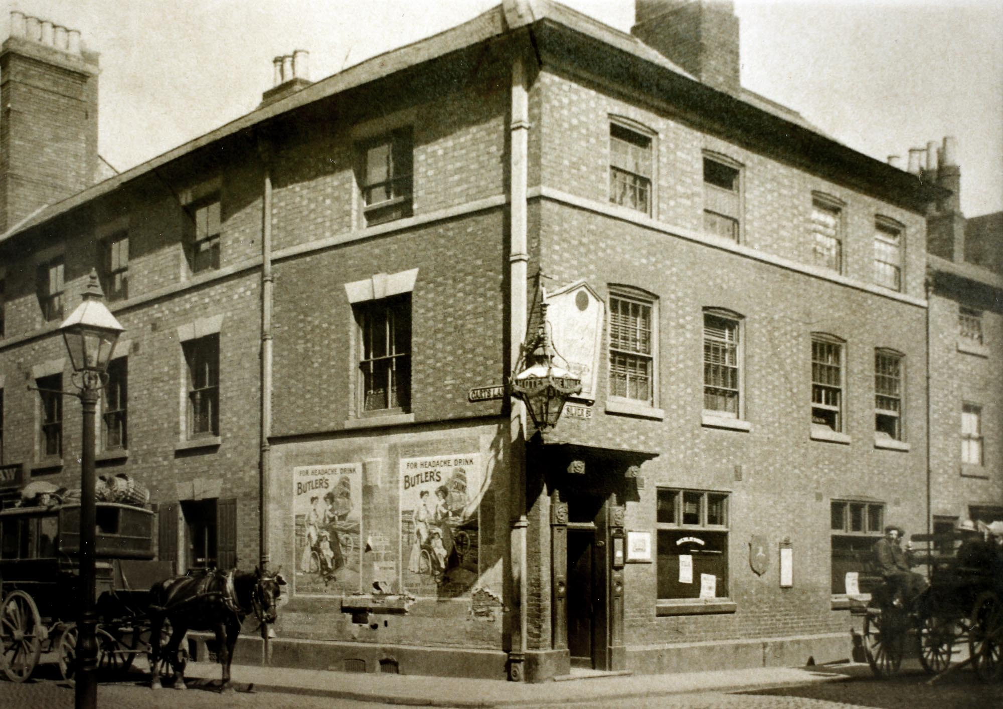 The Globe in Victorian times - Leicestershire Record Office