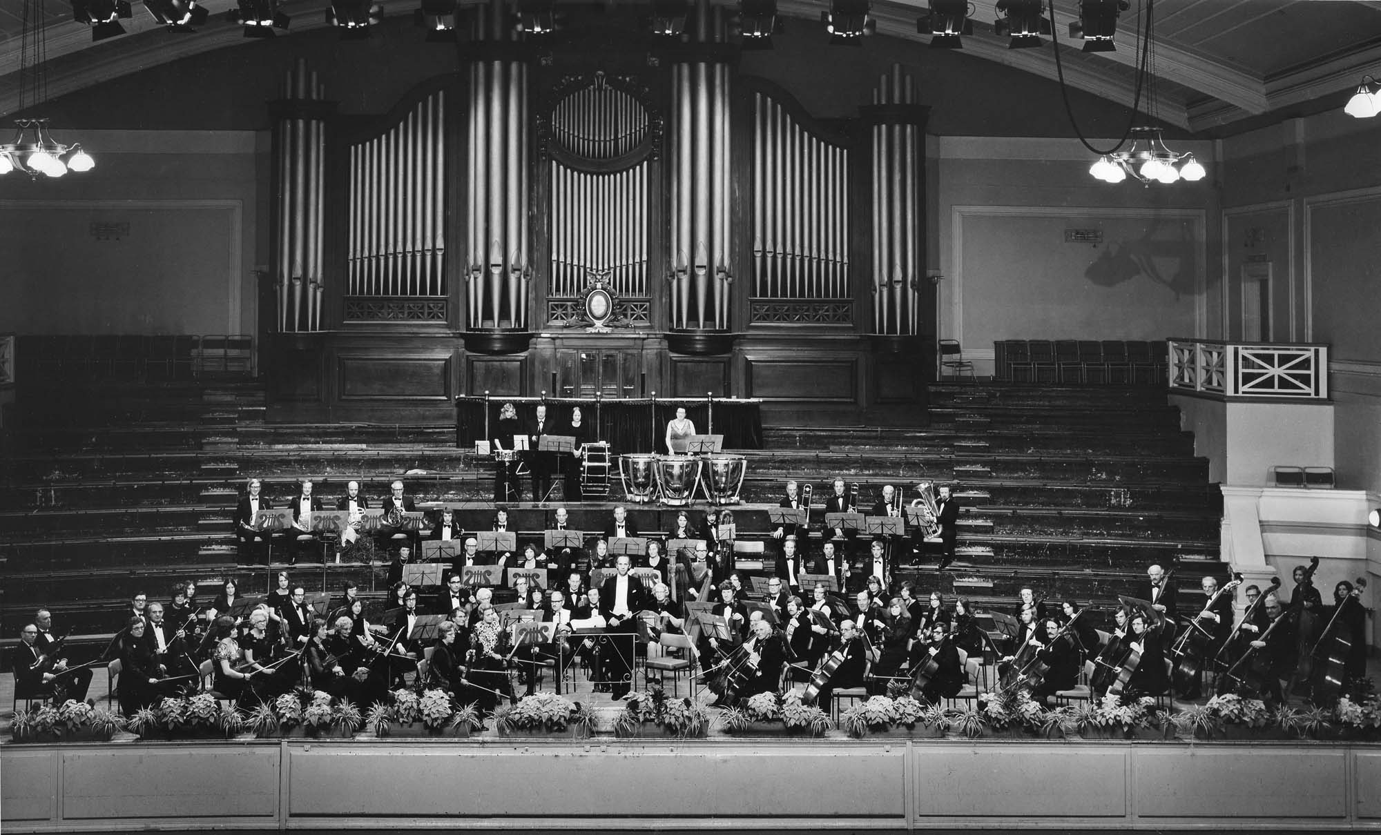 Sir Malcolm Sargent and the Leicester Symphony Orchestra, 1975 -