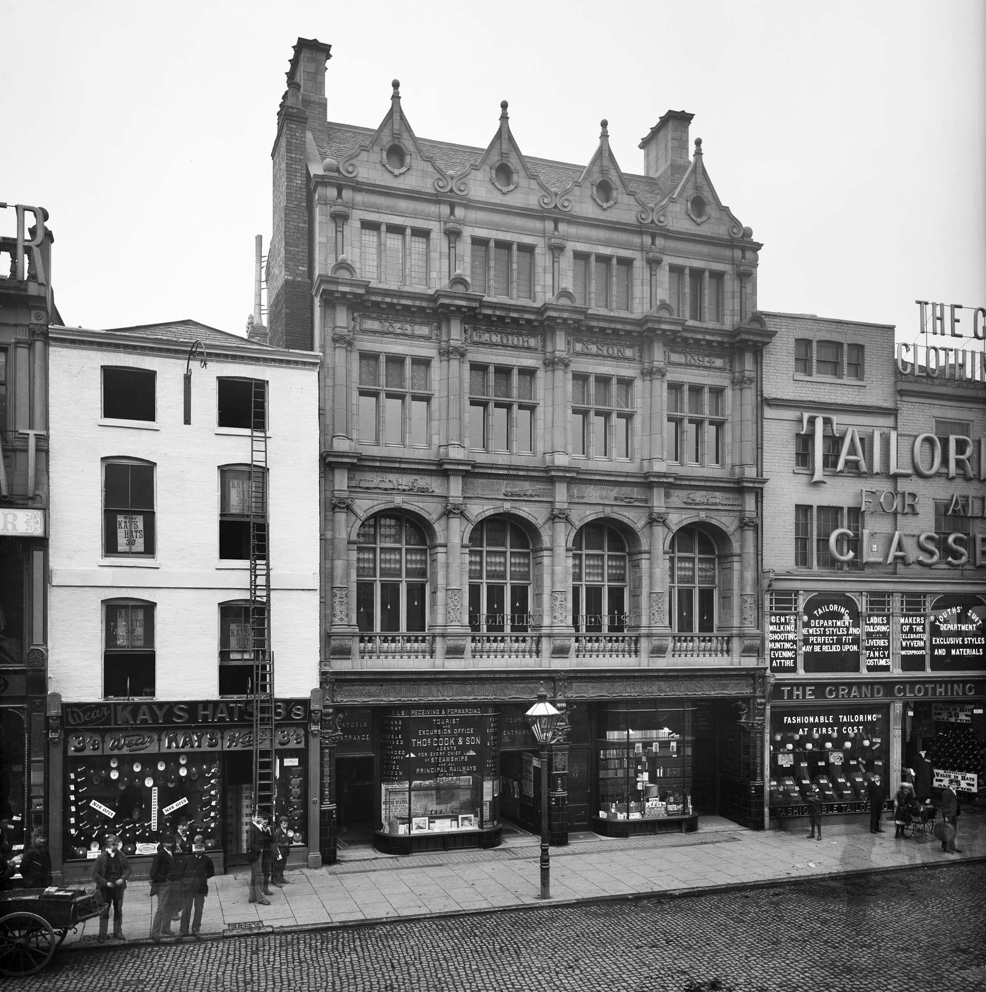 The Thomas Cook Building c.1900 - English Heritage