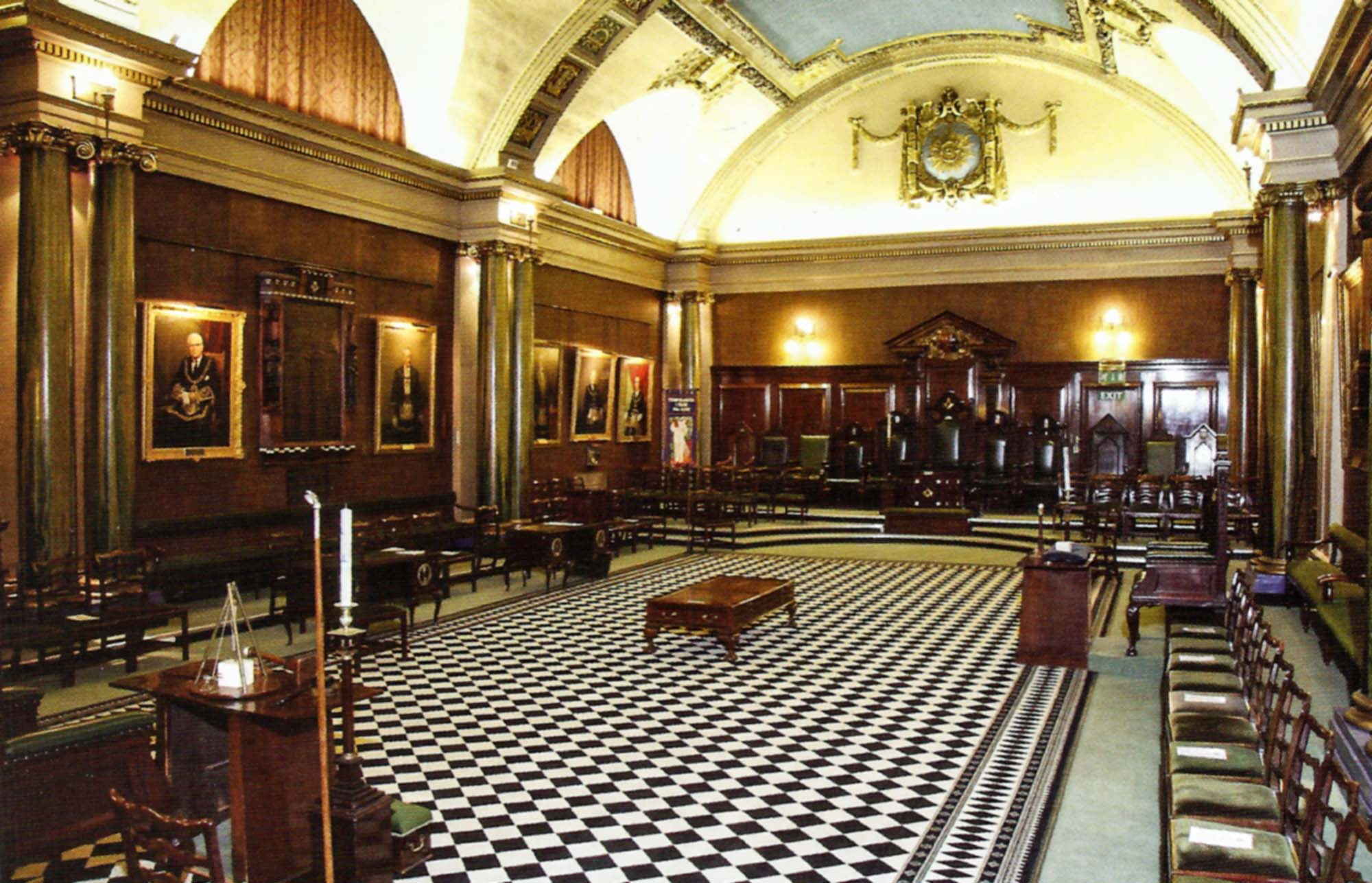 Holmes Lodge Room, Freemasons' Hall, London Road -