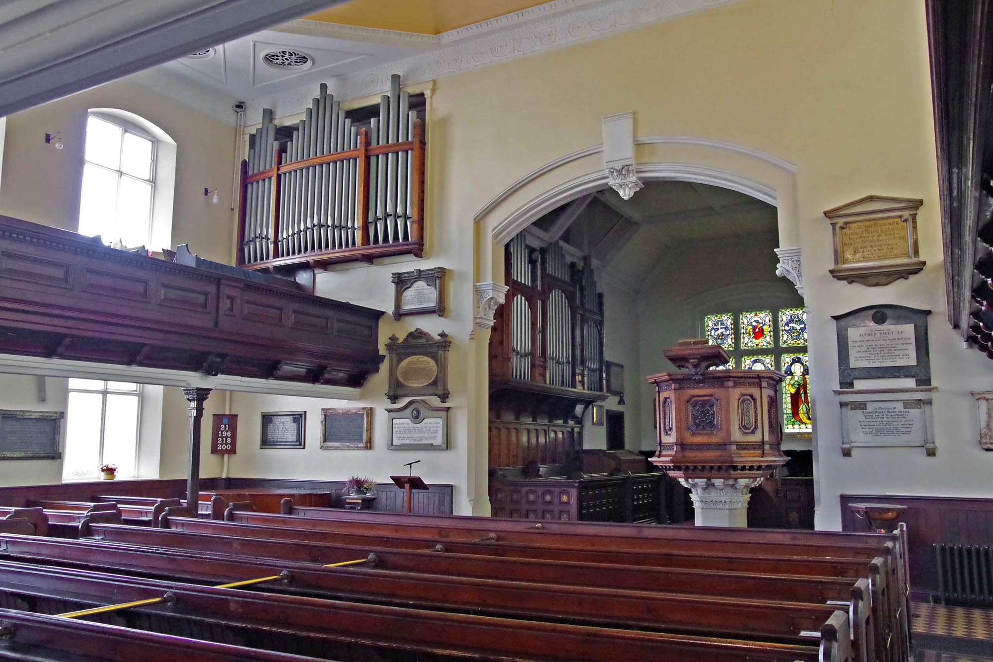 The Chapel interior -