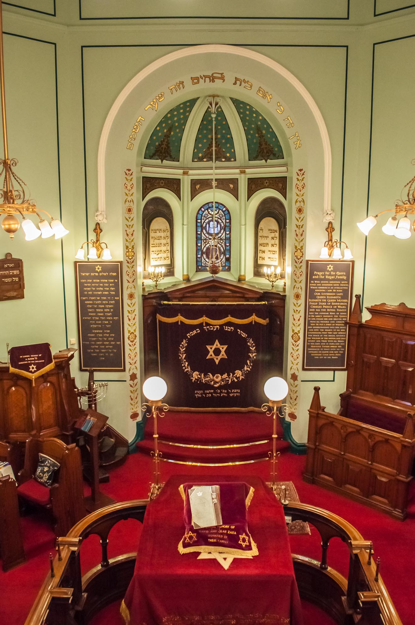 Interior of the Synagogue -