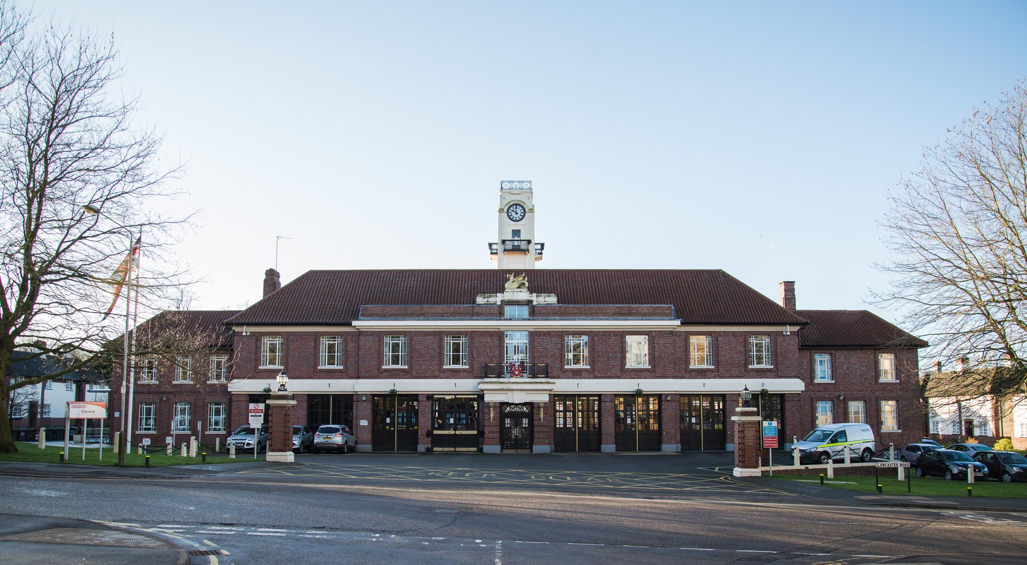 The Central Fire Station as it looks today -