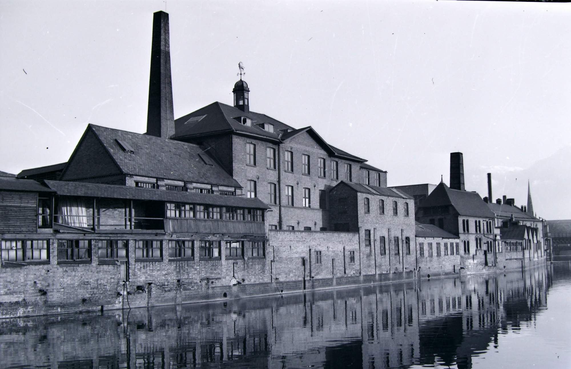 Friars Mill site circa 1950s - Leicestershire Record Office
