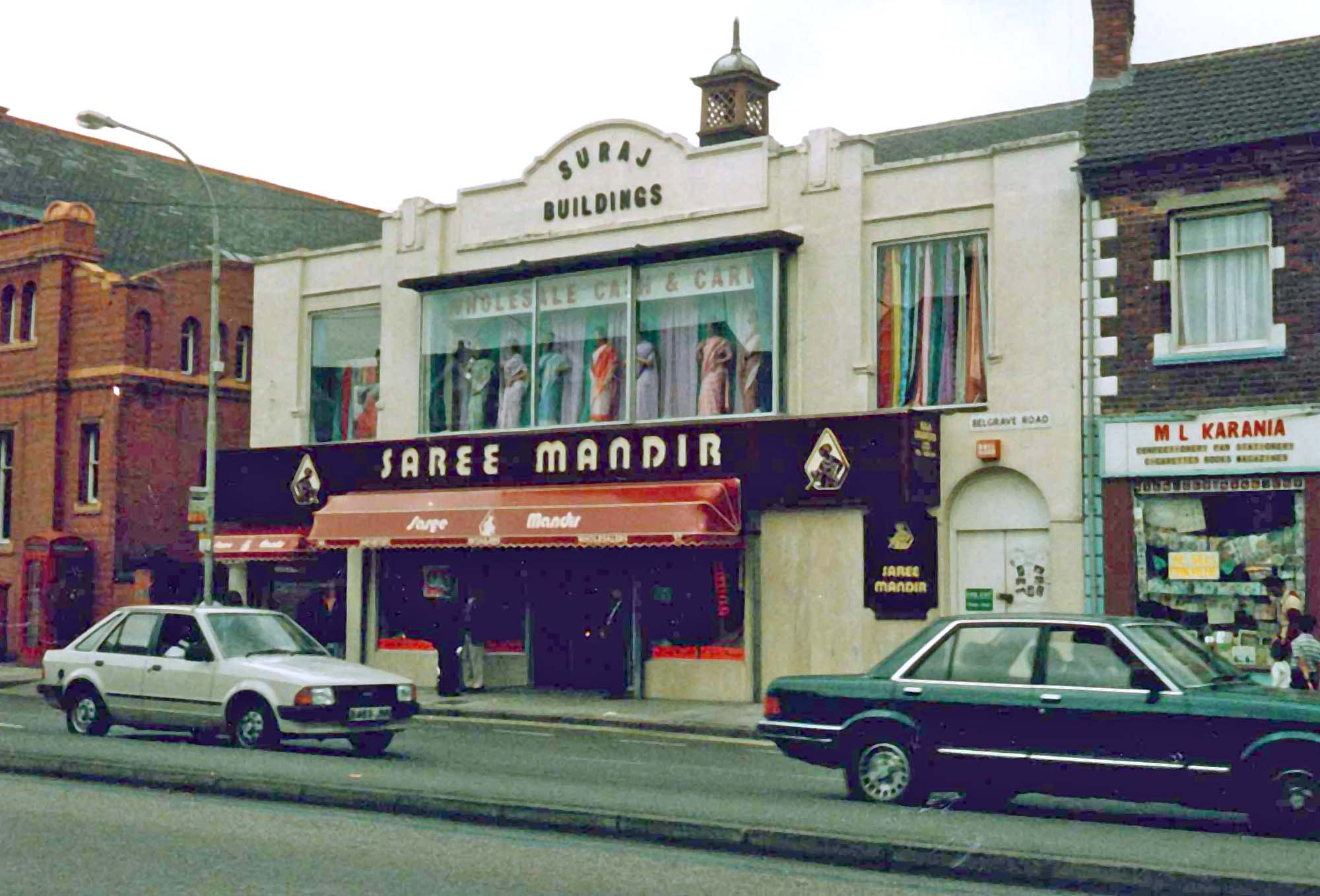 Belgrave Road in the 1980s -