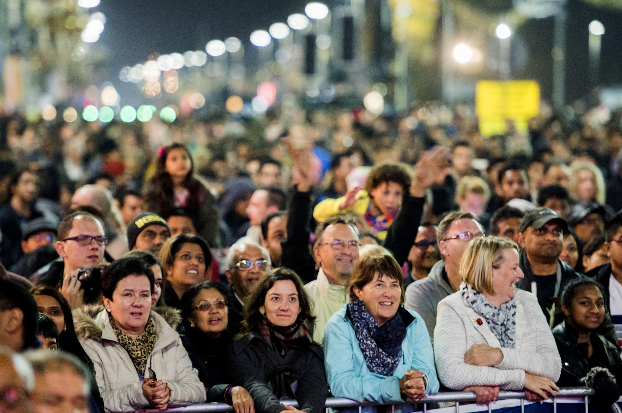 Today Leicester's Diwali Lights attract a diverse range of people to Leicester -